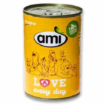 Ami Dog rostlinné krmivo v konzervě 400g