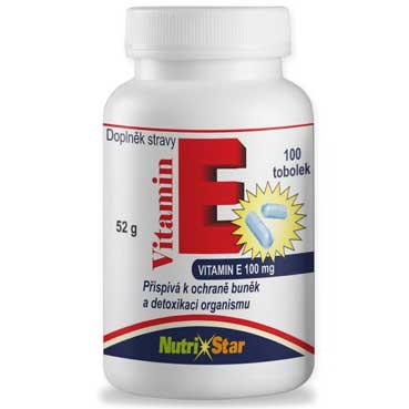 Vitamin E 100 kapslí